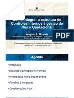 Como Integrar a Estrutura de Controles Internos a Gest%E3o de Risco Operacional - Wagner Soares de Almeida