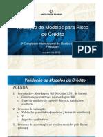 Valida%E7%E3o de Modelos Para Risco de Cr%E9dito - Luis Eduardo Stancato