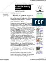 Monsanto Versus Farmers