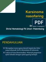 Dr. Edi Hidayat, Karsinoma Nasofaring