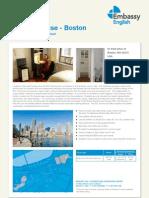 미국 Embassy 보스톤 ESl_Townhouse_Boston