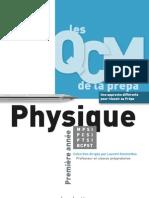 Les QCM de la prépa Physique 1re année  2010