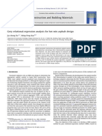 Grey Relational-regression Analysis for Hot Mix Asphalt Design