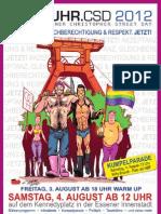 Programm RUHR.CSD 2012
