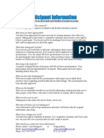 Questionnaire Impacts on Family Members and Friends of Prisoners