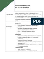 Plan de Desarrollo Curricular de Primero