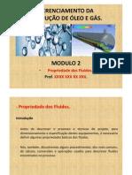 MODULO 2 - Propriedade Dos Fluidos