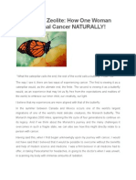 ZEOLITE Cancer Cure