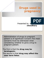 Drugs Used in Pregnancy