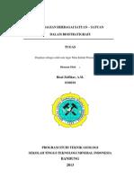 Tugas Unit Biostratigrafi