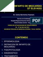18 Infarto de Miocardio 2013 Cbh