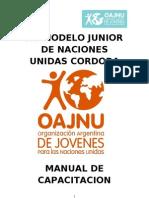 Manual de Capacitación Modelo Junior 2013 - Oajnu -