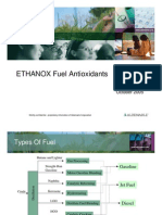 Antioxidants for Fuel Applications
