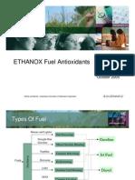 Antioxidants for Fuel Applications