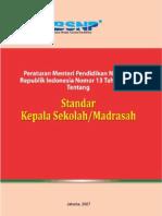 Permendiknas No.13 2007 Ttg Standar Kepala Sekolah-Utk Tambahan Bacaan Di Unit 8)