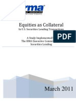 Equities as Collateral Study