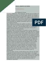 Carta a Francisco Juan Zapatero, Sacerdote