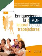 Taller de Habilitación Laboral con Enfoque de Género para Trabajadoras Jefas de Hogar- 07 Enriqueciendo la cultura laboral de las trabajadoras