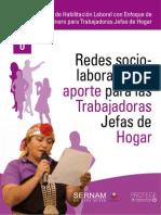 Taller de Habilitación Laboral con Enfoque de Género para Trabajadoras Jefas de Hogar- 08 Redes Sociolaborales