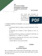 DeliberacaoCME15 - Abertura Educ Infantil