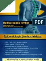 Seminario Lumboradiculalgias 2013