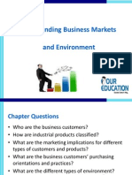 Understanding Business Markets and Environment