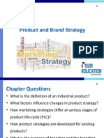 Product and Brand Strategy