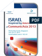 Commu Nicasia 2013 Israel Pavilion Catalogue