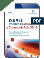Commu Nicasia 2013 Israel Pavilion Catalogue