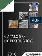 Catalogo de Aceros