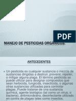 Manejo de pesticidas orgánicos [Autoguardado]