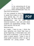 Sample Speech in Introducing a Guest Speaker | Chairman ...