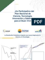 SENESCYT SENPLADES Presentacion Metodologia 05092011