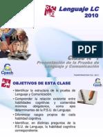 Clase 01 Lenguaje LC Cpech - Presentacion Prueba (OliverClases)