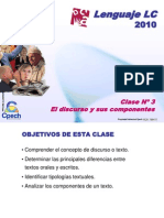Clase 03 Lenguaje LC Cpech - El Discurso (OliverClases)