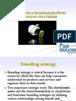 Designing Branding Strategies