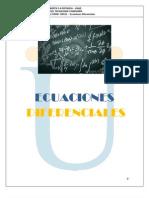 MODULO Ecuaciones Diferenciales 2012-2