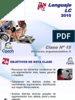 Clase 15 Lenguaje LC Cpech - Discurso Argumentativo (OliverClases)