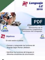 Clase 18 Lenguaje LC Cpech - Funciones Del Lenguaje (OliverClases)
