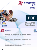 Clase 23 Lenguaje LC Cpech - Periodismo (OliverClases)