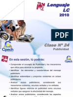 Clase 24 Lenguaje LC Cpech - Publicidad (OliverClases)