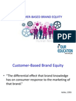 CUSTOMER-BASED BRAND EQUITY