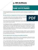 Protecting & Preserving New York City Parks