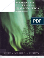 Fundamentos de La Teoria Electromagnetica, 4ta.ed Reitz, John