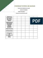 Parametros de Nota de Fisiopato