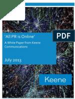 'All PR is Online' [WHITE PAPER]