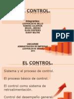 El Control.