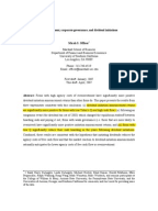 Dividend policy literature review