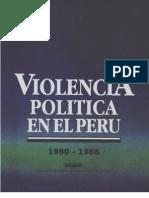 Violencia Politica en El Peru 1980 1988 DESCO Tomo II