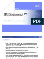 DB2 LUW Administration for SAP eLearning